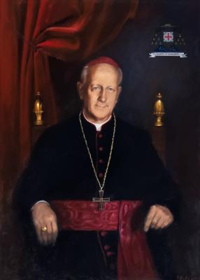 Blagoslovitev portreta škofa Jožefa Kvasa