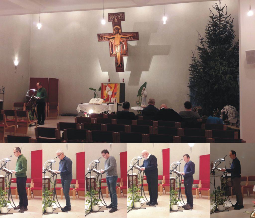 Svetopisemski maraton 2020 v kapeli Antonovega doma